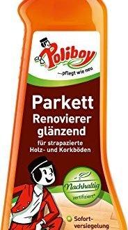 poliboy parkett renovierer glaenzend 500ml flasche 184x330 - Poliboy - Parkett Renovierer glänzend - 500ml Flasche