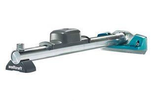 wolfcraft Hammer-Zugeisen 6945000 – Werkzeug zum Verlegen von Laminat und Parkett – 3-in-1-Funktion – Hammer, Schlagholz und Zugeisen in einem Produkt